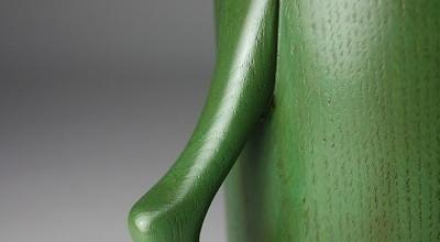 マグカップ (グリーン)。